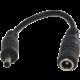 PremiumCord napájecí redukce pro adaptér z nap. konektoru 5.5mm na NOKIA 3.5mm