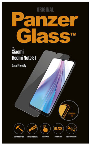 PanzerGlass Standard pro Xiaomi Redmi Note 8T, čirá