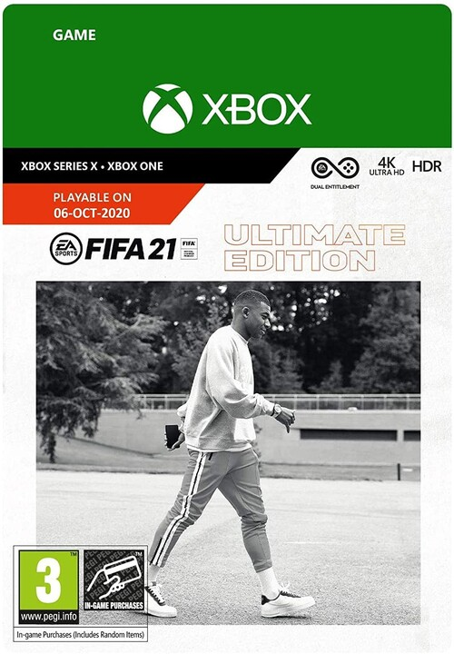 FIFA 21 Ultimate Edition (Xbox ONE) - elektronicky