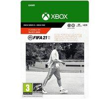 FIFA 21 Ultimate Edition (Xbox ONE) - elektronicky