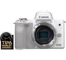 Canon EOS M50, tělo, bílá - 2681C002