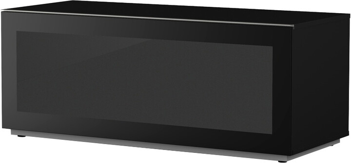 Meliconi 500405 TV stolek, skleněný 12050F, černá