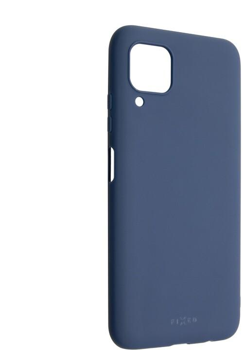 FIXED Story zadní pogumovaný kryt pro Huawei P40 Lite, modrá