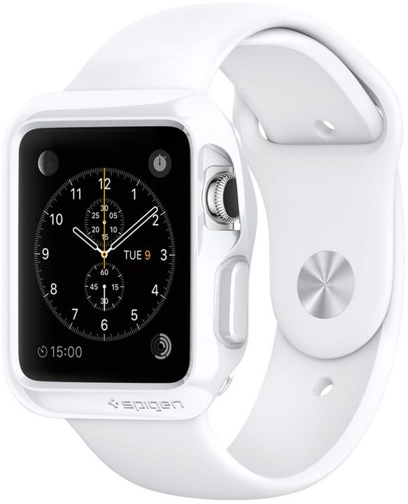 Spigen Slim Armor, white - Apple Watch 38mm