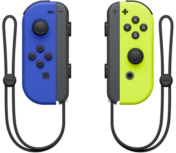 Nintendo Joy-Con (pár), modrý/žlutý (SWITCH)