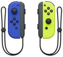 Nintendo Joy-Con (pár), modrý/žlutý (SWITCH) - NSP065