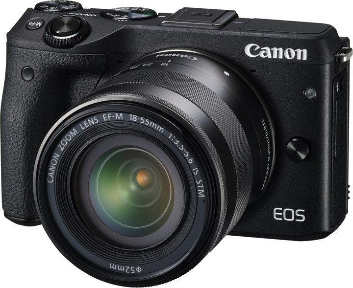 Canon EOS M3 + EF-M 18-55 IS STM