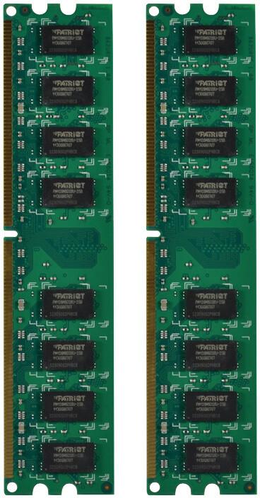 Patriot Signature Line 4GB (2x2GB) DDR2 800 CL6