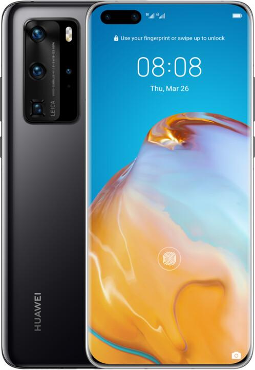 Huawei P40 Pro, 8GB/256GB, Black