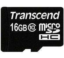 Transcend Micro SDHC 16GB Class 10 - TS16GUSDC10