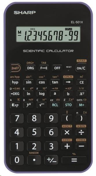 Sharp SH-EL501XVL, černo-fialová