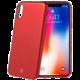 CELLY Sotmatt TPU pouzdro pro Apple iPhone X, matné provedení, červené