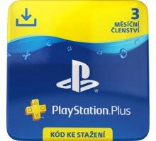 PlayStation Plus - 3měsíční členství - elektronicky