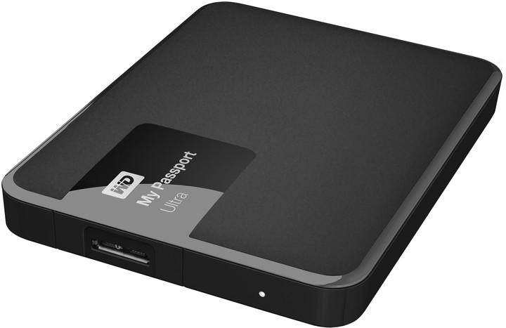 WD My Passport Ultra - 3TB, černá