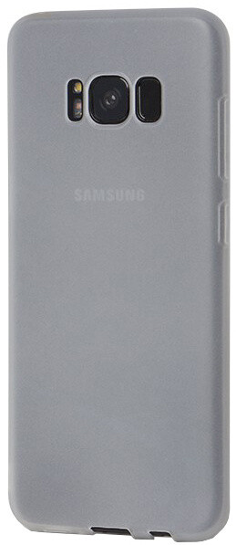 EPICO SILK MATT pružný plastový kryt pro Samsung Galaxy S8 - bílý transparentní
