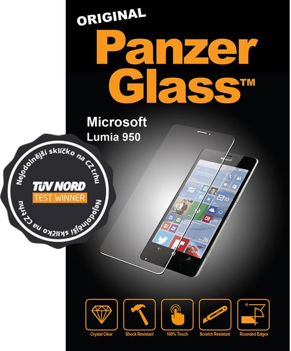 PanzerGlass Standard pro Microsoft Lumia 950, čiré