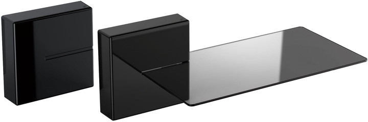 Meliconi GHOST CUBE shelf, černá