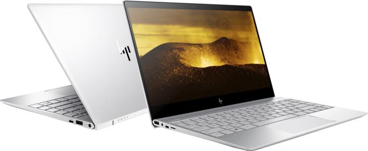 HP Envy 13-ad013nc, stříbrná