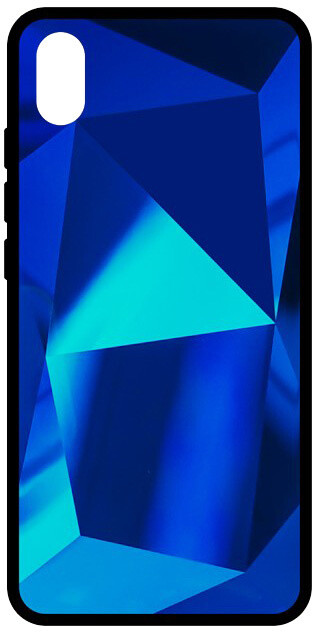 EPICO COLOUR GLASS Case Xiaomi RedMi 7A, modrá