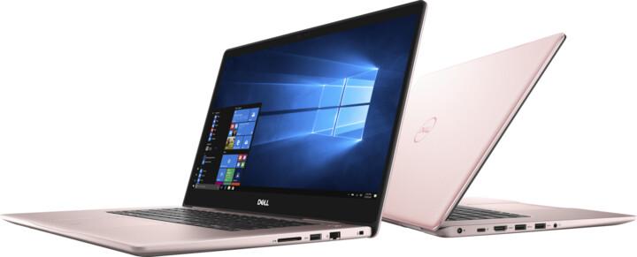 Dell Inspiron 15 (7570), růžová