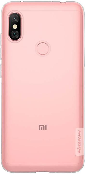 Nillkin Nature TPU pouzdro pro Xiaomi Redmi Note 6 Pro, transparentní