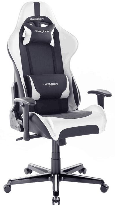 DXRacer Formula OH/FL32/NW, černá/bílá