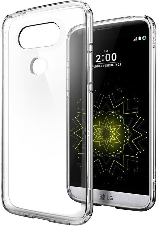 Spigen Ultra Hybrid pro LG G5, clear