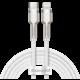 BASEUS kabel Cafule Series, USB-C - Lightning, M/M, nabíjecí, datový, 20W, 2m, bílá