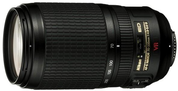 Nikon objektiv Nikkor 70-300mm f/4.5-5.6G AF-S VR