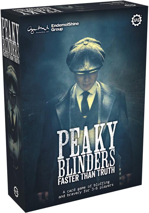Karetní hra Peaky Blinders: Faster Than Truth