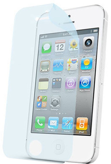 CELLY Screen protector pro displej Apple iPhone 4/4S, prémiová, lesklá, 2ks