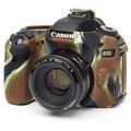 Easy Cover silikonový obal pro Canon 80D, maskáčová