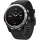 GARMIN fenix5 Silver Optic, Black band  + Powerbanka 5000 mAh, bílá (v ceně 499,-)