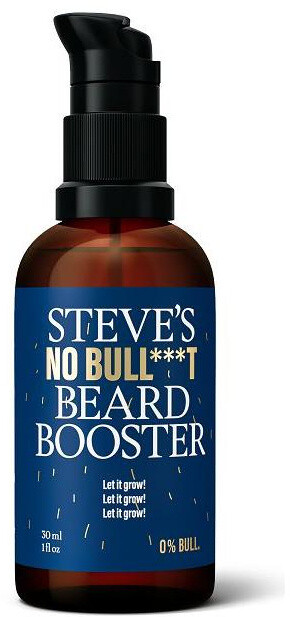 Gel Steve´s Beard Booster, pro růst vousů, 30 ml