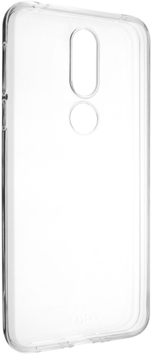 FIXED ultratenké TPU gelové pouzdro Skin pro Nokia 7.1, 0,6 mm, čiré