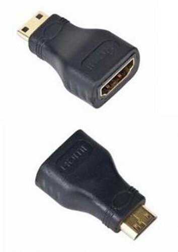 Gembird CABLEXPERT kabel HDMI na HDMI mini-C, F/M, zlacené kontakty, černá