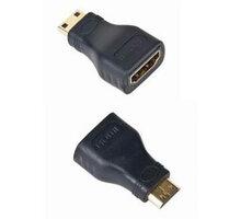 Gembird CABLEXPERT kabel HDMI na HDMI mini-C, F/M, zlacené kontakty, černá - A-HDMI-FC