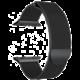 MAX kovový řemínek pro Apple Watch 4/5, 44mm, černá