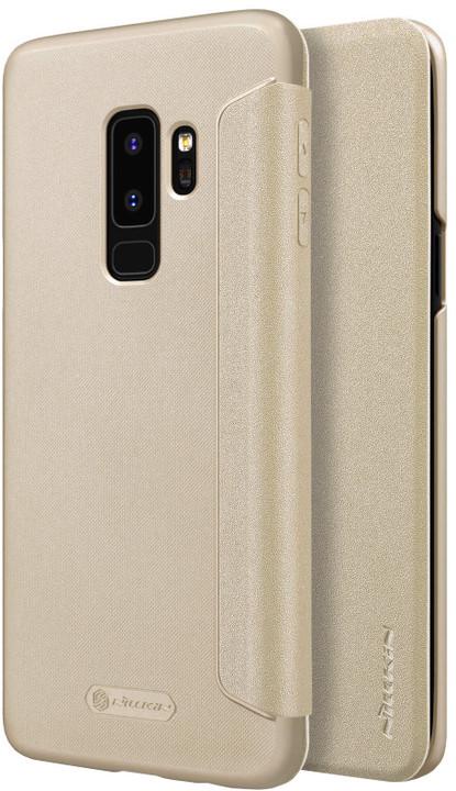 Nillkin Sparkle Folio pouzdro pro Samsung G965 Galaxy S9 Plus, Gold