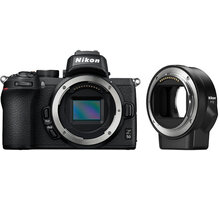 Nikon Z 50 + FTZ adapter - VOA050K003