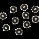 Sennheiser náhradní náušníky, řada CX3.00,CX5.00i,CX5.00G, XS, černá