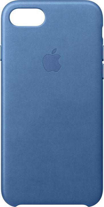 Apple Kožený kryt na iPhone 7/8 – jezerně modrý
