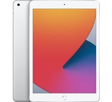 "Apple iPad 2020, 10,2"", 128GB, Wi-Fi, Silver Kuki TV na 2 měsíce zdarma"