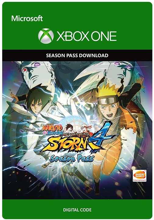Naruto Shippuden Ultimate Ninja Storm 4 Season Pass (Xbox ONE) - elektronicky