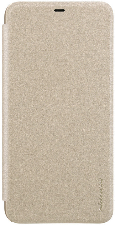 Nillkin Sparkle Folio Pouzdro pro Xiaomi Redmi 6, zlatý