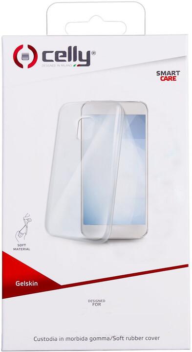 CELLY Gelskin TPU pouzdro pro Nokia 7 Plus, bezbarvé