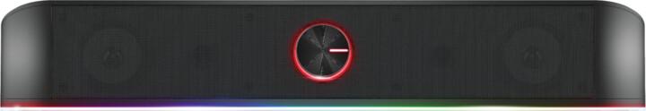Trust GXT 619 Thorne RGB Illuminated Soundbar, černá