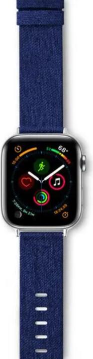 Epico řemínek Canvas pro Apple Watch 38/40mm, modrá