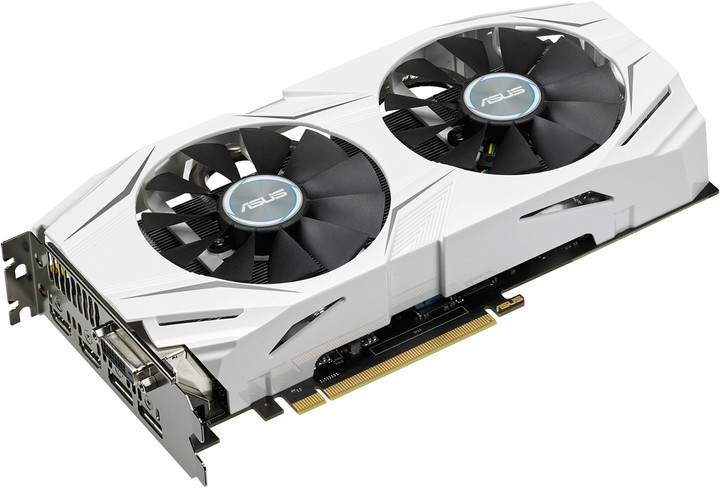 ASUS GeForce GTX 1070 DUAL-GTX1070-O8G, 8GB GDDR5