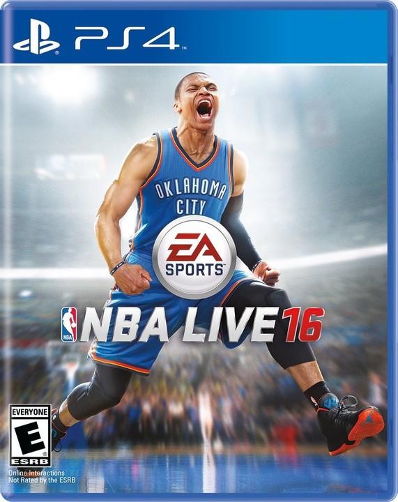 NBA Live 16 - PS4